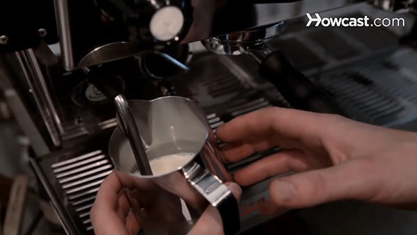 How to Steam Milk with Espresso Machine