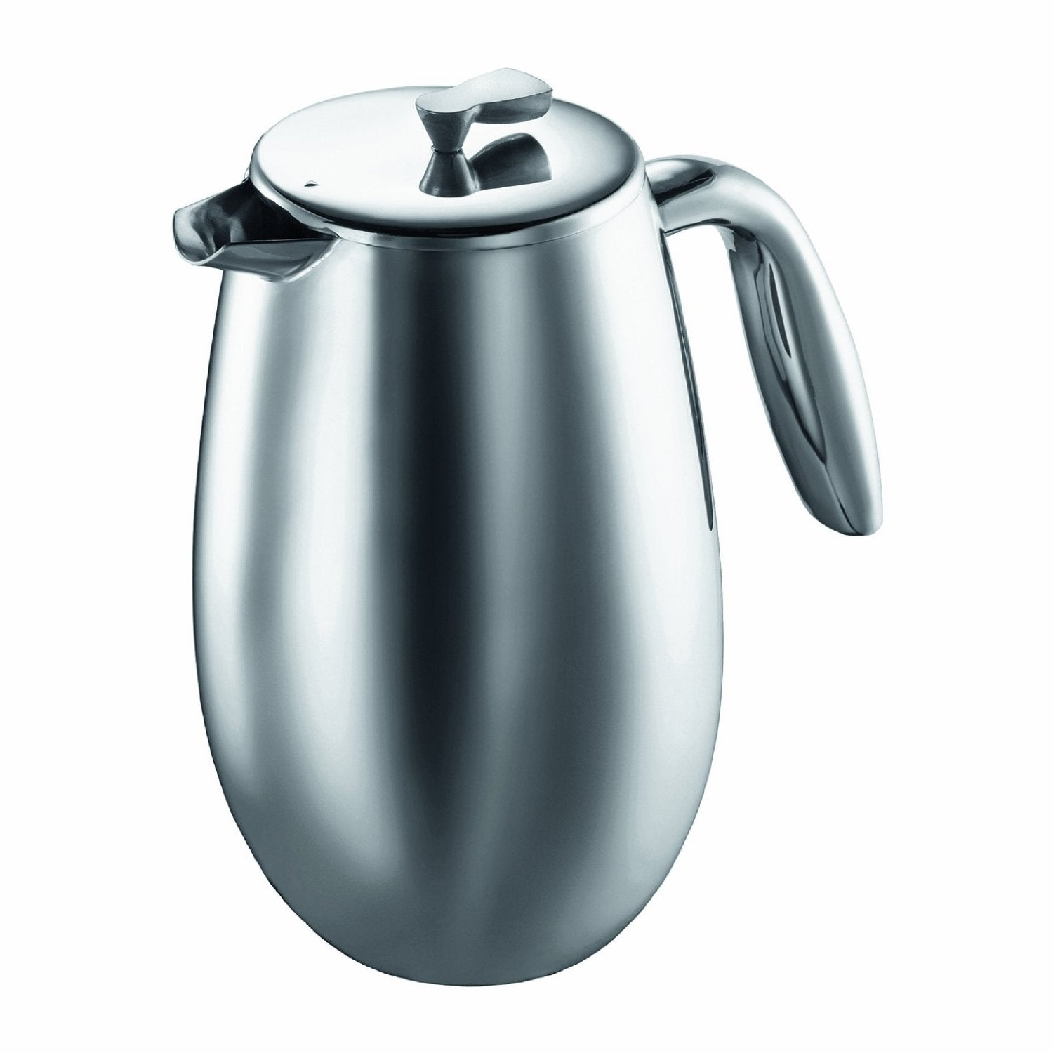 Bodum COLUMBIA Thermal French Press Coffee Maker, Stainless Steel (34 Ounces) - Nomad Coffee Club