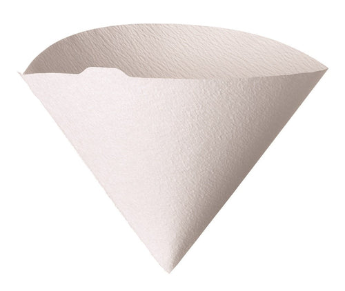 Hario V60 Misarashi Coffee Paper Filter (Size 02, 100 Count, White) - Nomad Coffee Club