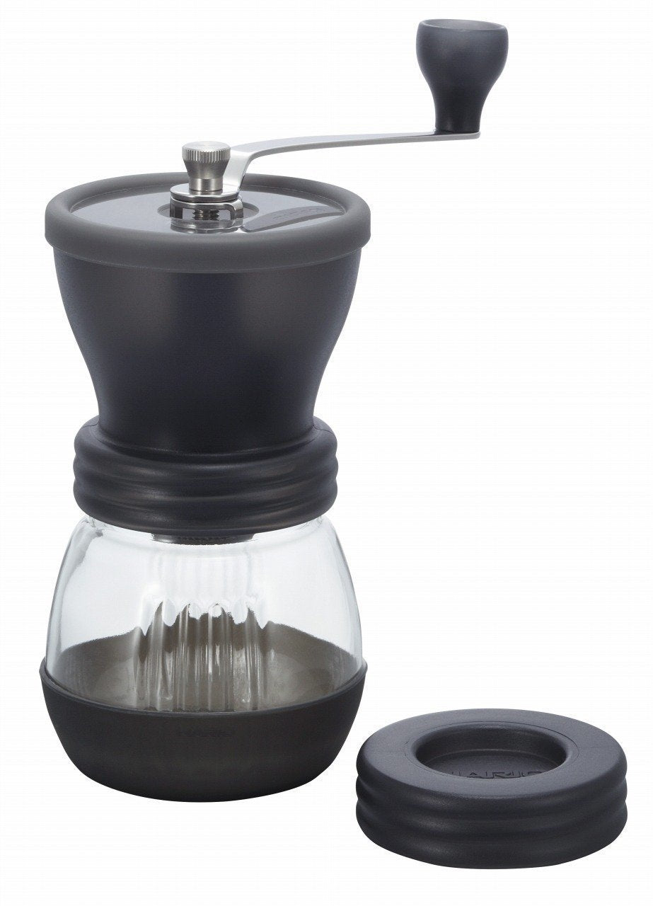 Hario Skerton Ceramic Coffee Mill Hand Grinder (100g) Black - Nomad Coffee Club