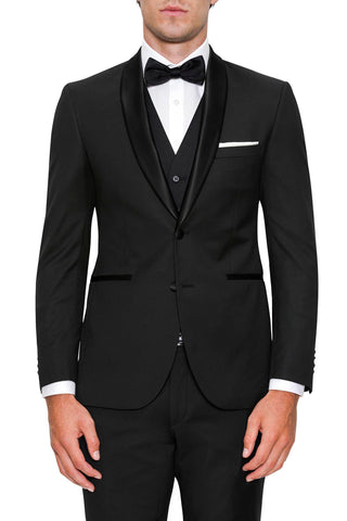 Apollo Dinner Suit Black