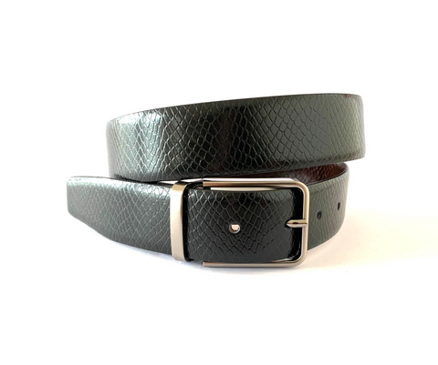 Crocodile Belt Brown
