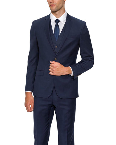 FORD WOOL SUIT NAVY