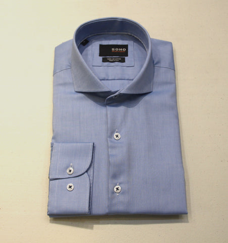 Baxter Shirt Non Iron Blue