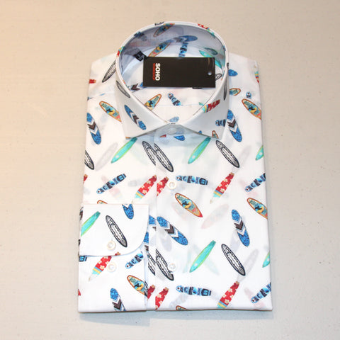 Avatar Shirt Blue Pattern