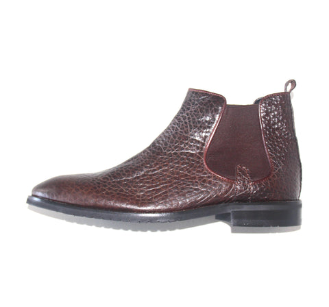 Genoa Leather Boot Brown