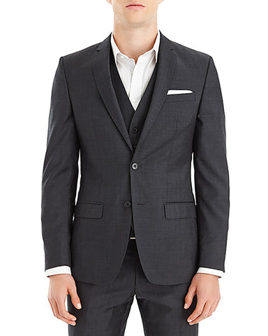 FORD WOOL CHARCOAL 2 SUITS FOR $999