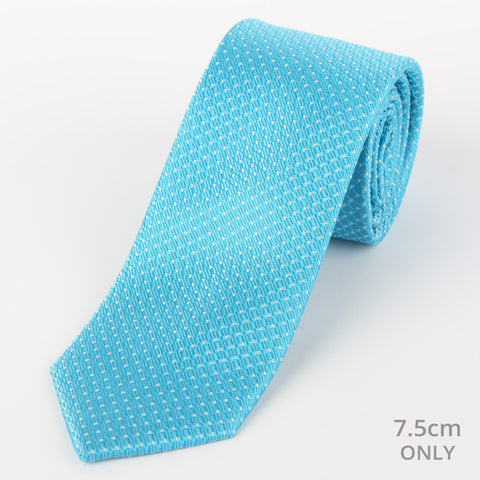 Silk Medium Dot Tie Teal