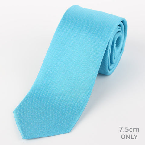Silk Mini Dot Tie Teal
