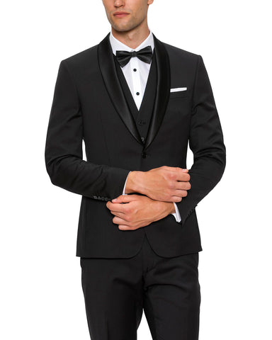 HOLDEN TUXEDO BLACK 2 SUITS FOR $995