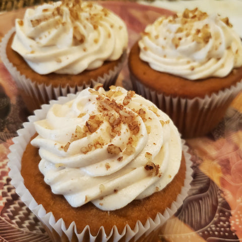 Sweet Potato Pound Cake Cupcakes