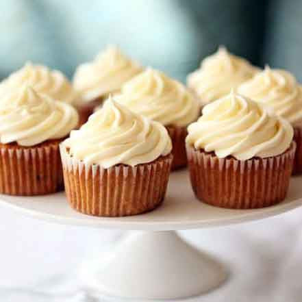 Pecan Carrot Cupcakes with Cream Cheese Icing