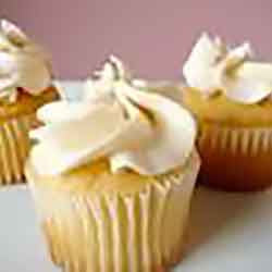 Pound Cake Cupcakes (Almond, Lemon, Orange, Citrus or Vanilla) with Butter Cream Icing