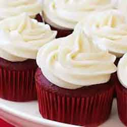 Jumbo Red Velvet Cupcakes with Cream Cheese Icing