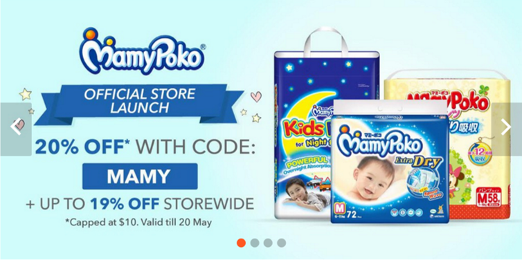 MamyPoko Official Store on Shopee