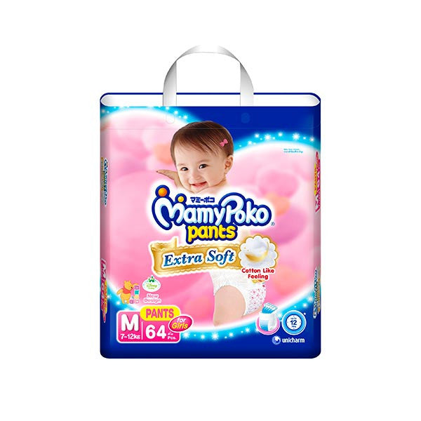 MamyPoko Pants Extra Soft Girl