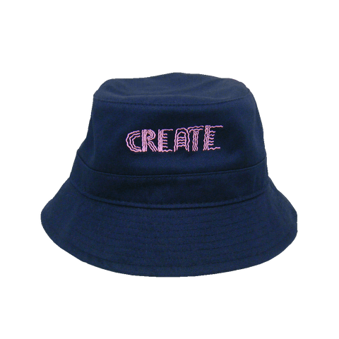Wobble Bucket Hat (Navy)