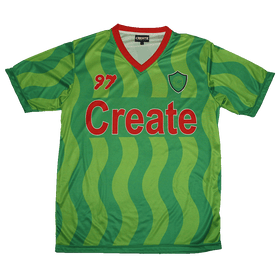 Soccer Kit 97 Alt Jersey & Shorts (Green)