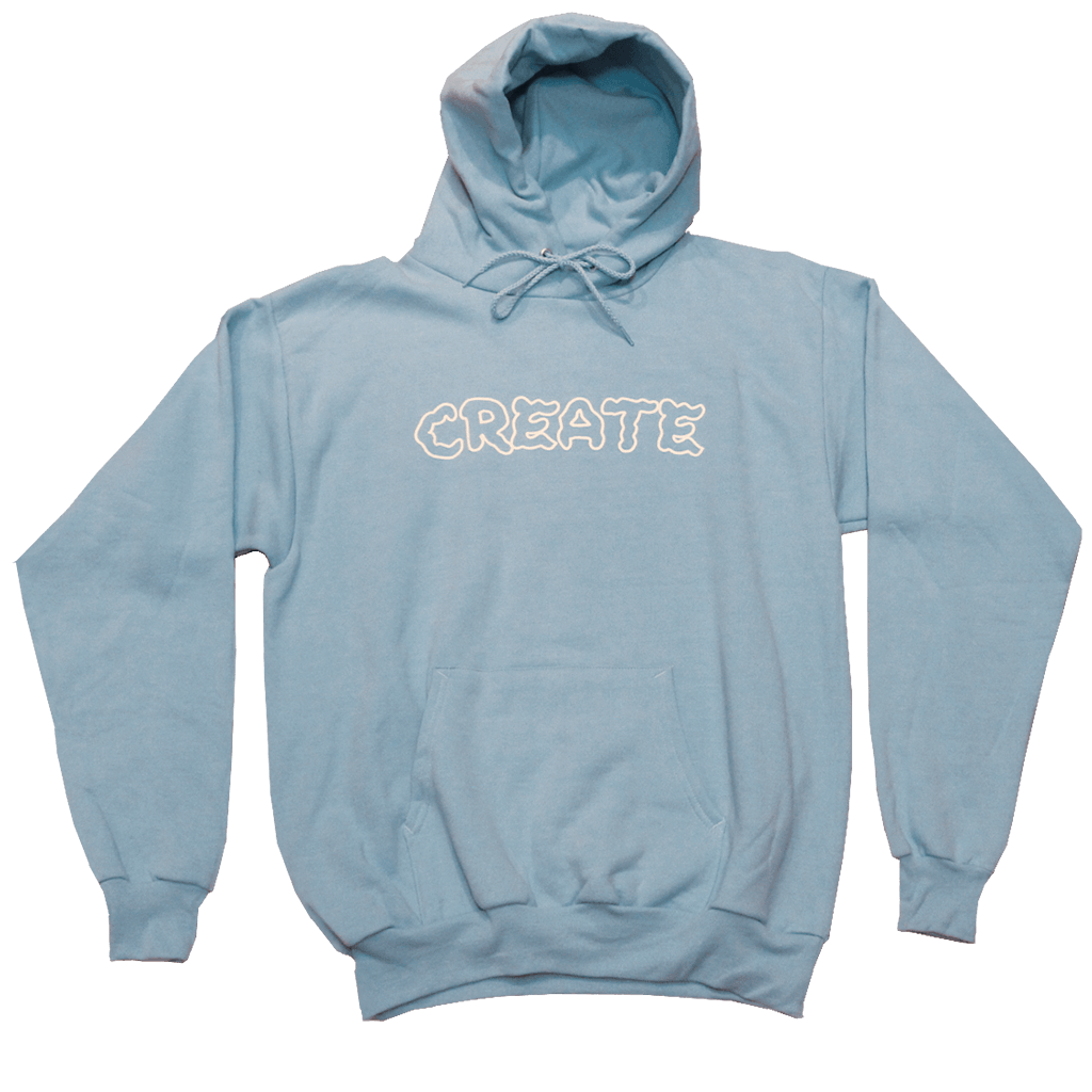 Wobble Hoodie (Light Blue)