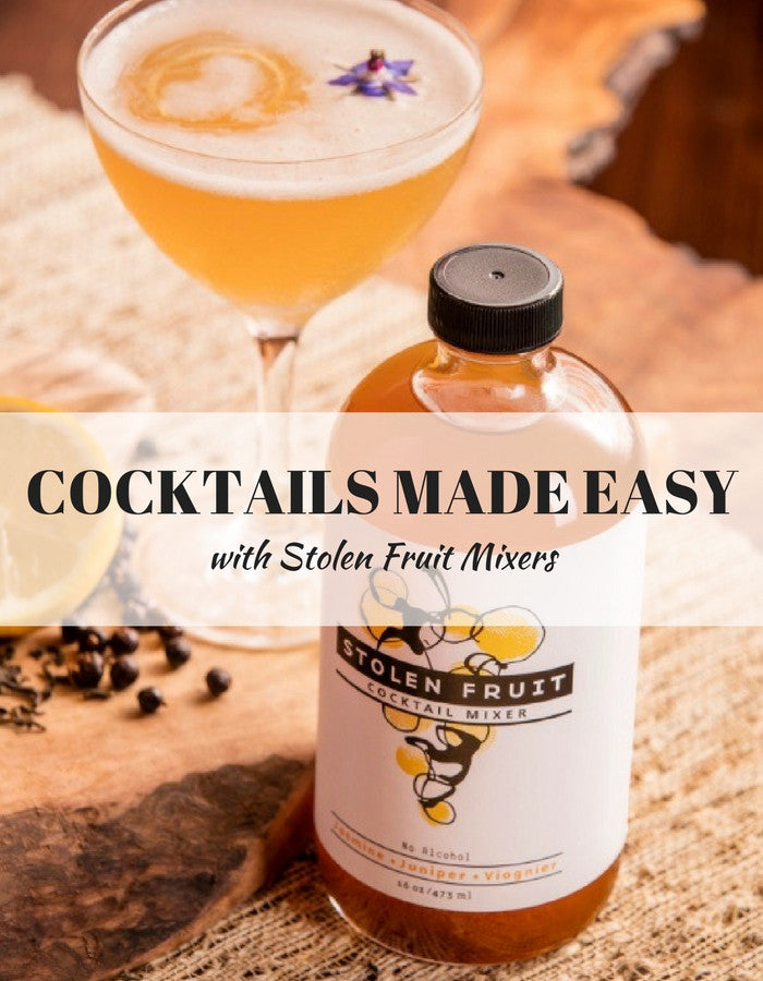 MomTrends  Saturday Sips: Easy Cocktails with Stolen Fruit Mixers