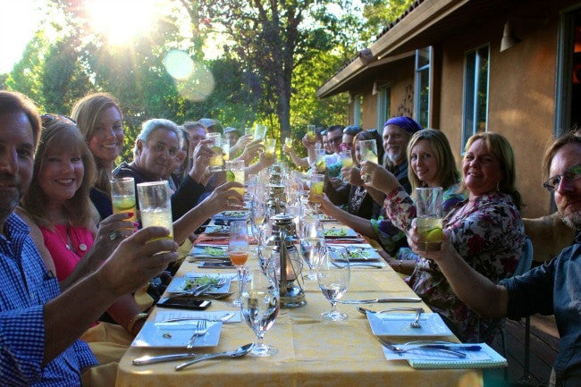 The Rich Life in Wine Country: Stolen Fruit Cocktail Mixers Dinner
