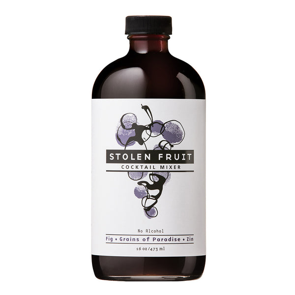 Stolen Fruit Fig Grains of Paradise Zin Cocktail Mixer