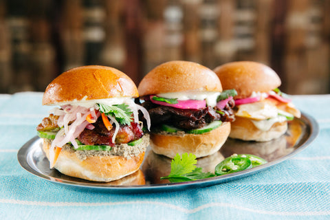 Banh Mi Sliders - Serves 10