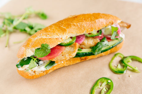 Vegan Chicken Banh Mi