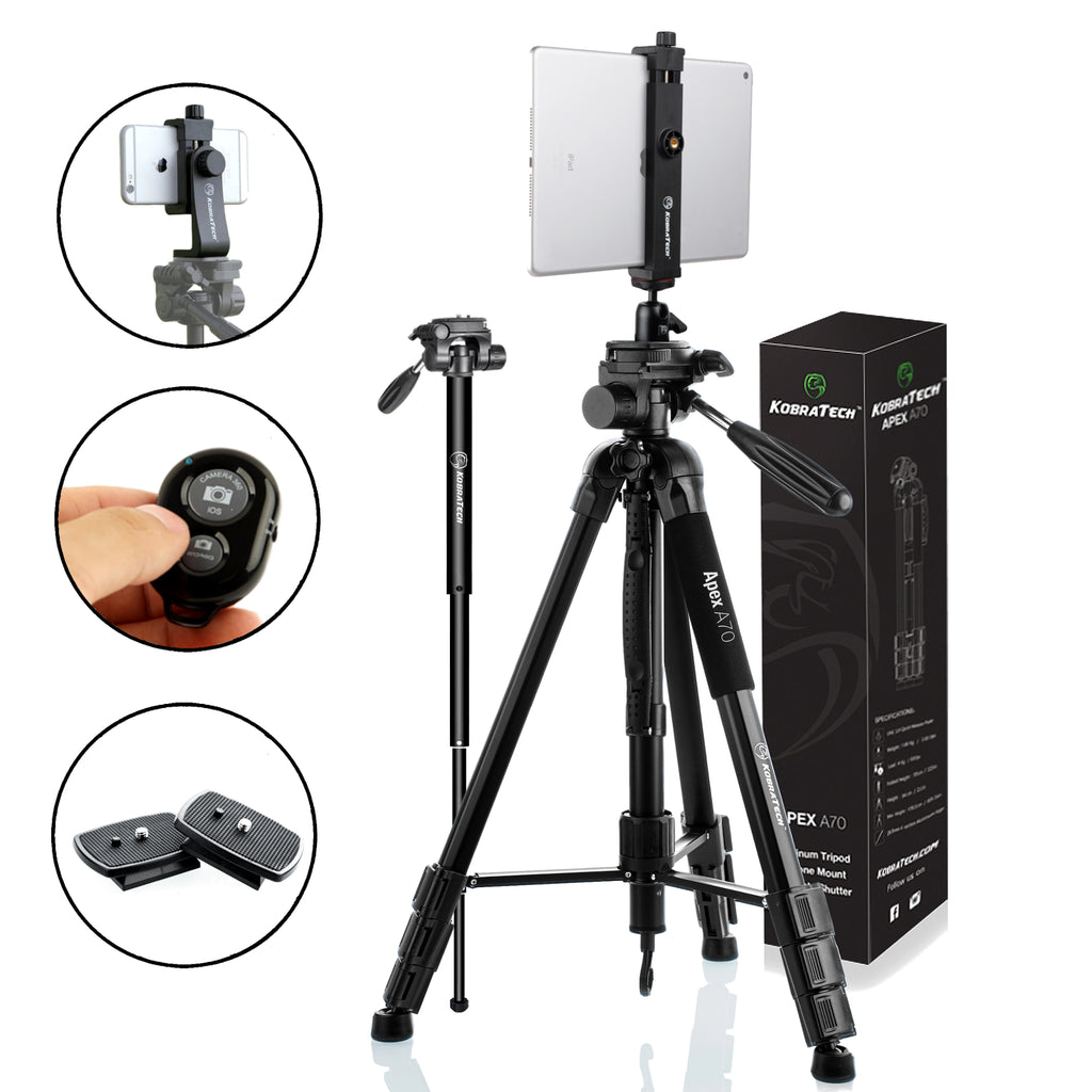 Phone + iPad Tripod Bundle