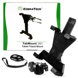 NEW* TabMount 360 - iPad Tripod Mount with Ball Head & Remote