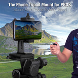 NEW* UniMount 360 Pro - Heavy Duty Metal Phone Tripod Mount