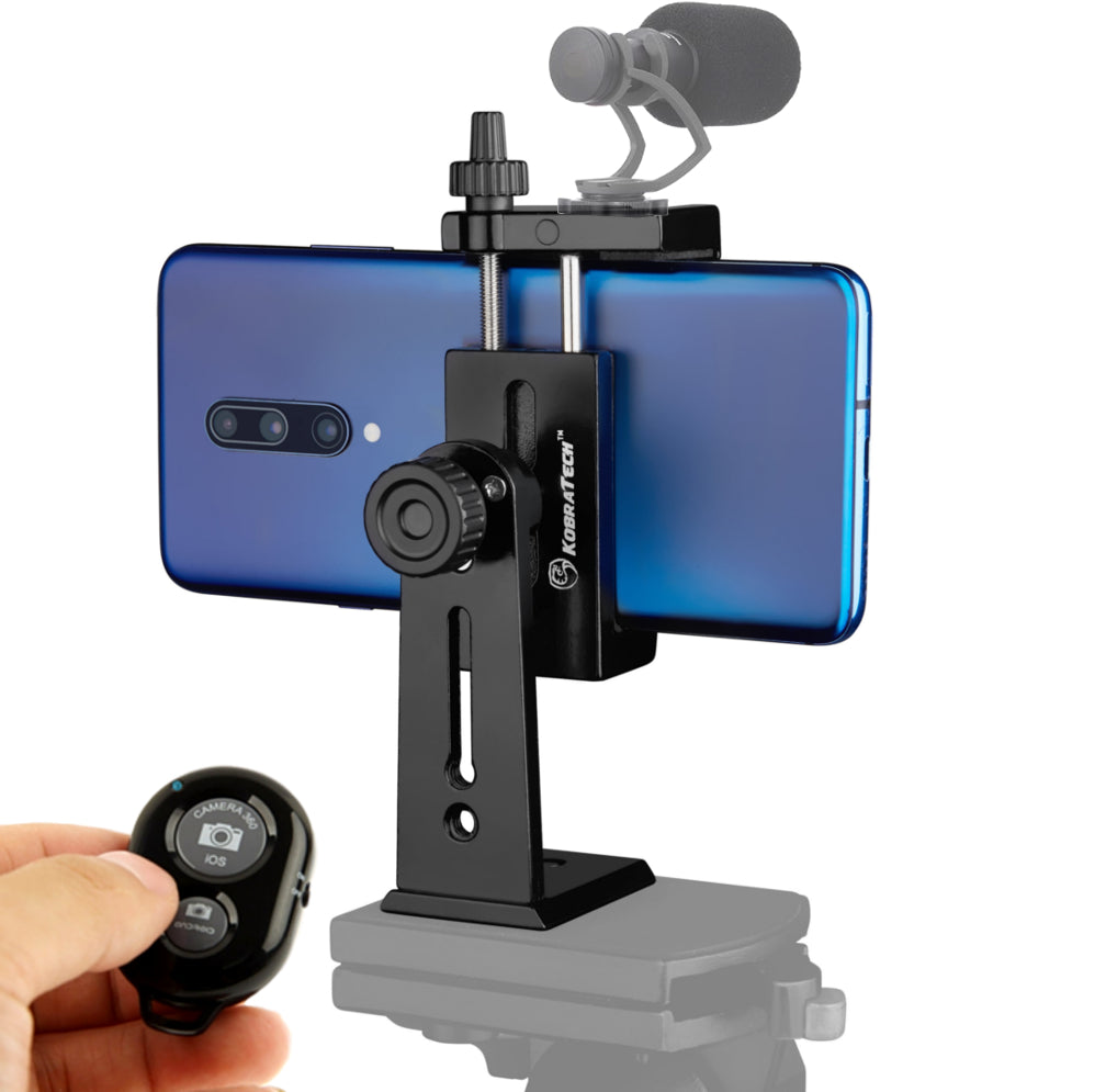 *NEW* UniMount 360 Pro - Heavy Duty Metal Phone Tripod Mount