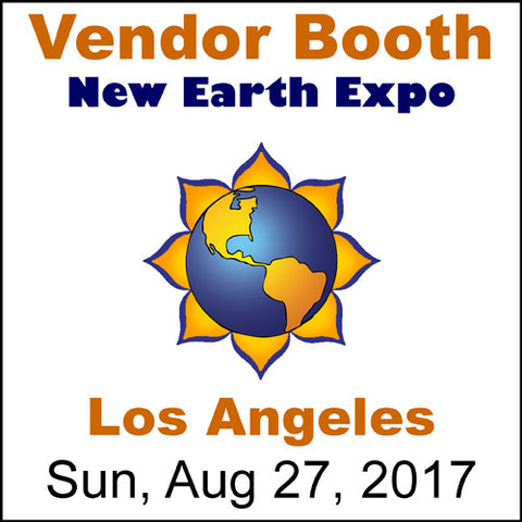 Exhibitor Booth, 2017-08-27, Los Angeles, New Earth Expo