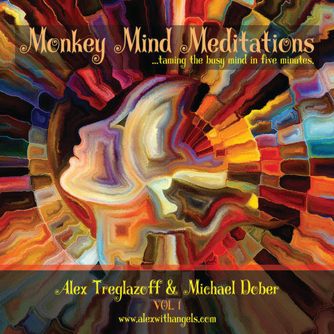 Monkey Mind Meditation CD by Alex Treglazoff