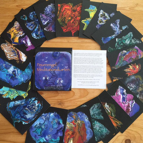 A Fire Angels Meditation Card Deck by Helle Brisson