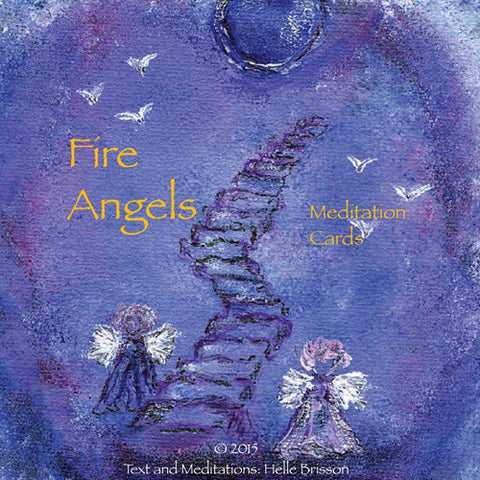 Fire Angels Meditation Cards by Helle Brisson