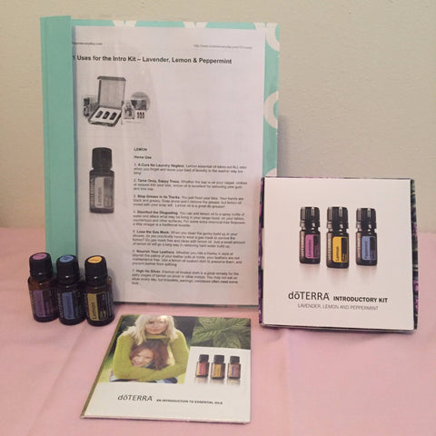 doTERRA Introductory Kit to Essential Oils from Kathleen Boyd