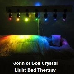 John of God Crystal Light Bed Therapy