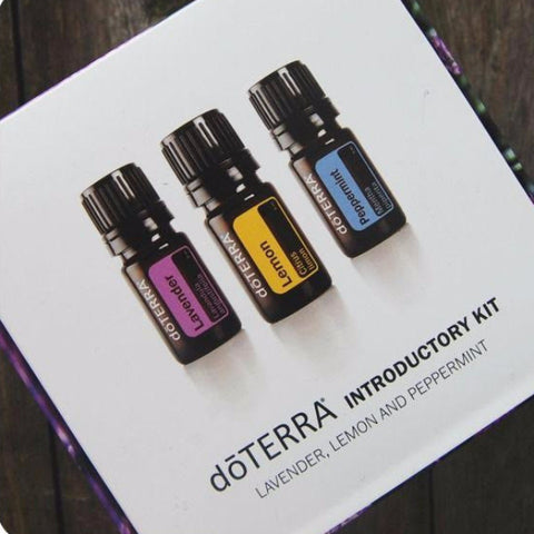 doTERRA Introductory Kit (5mL Bottles of Lemon, Lavender and Peppermint) from Kelsey Guerra