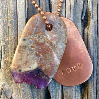 Energetic Stone and Crystal Talisman Jewelry