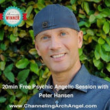 20 min Psychic Angelic Session with Peter Hansen