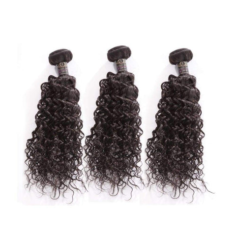 Brazilian Deep Curls Virgin Human Hair Extensions - 12 $60.00 Brazilian Virgin Hair Extensions QualityHairByLawlar