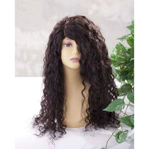 Peruvian Water Wave Human Hair Lace Front Wig - Medium - 56cm $450.00 Lace Front Wig QualityHairByLawlar