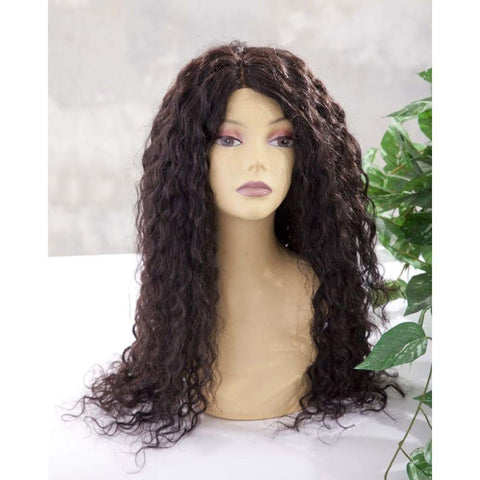 Peruvian Water Wave Human Hair Lace Front Wig - $450.00 Lace Front Wig QualityHairByLawlar