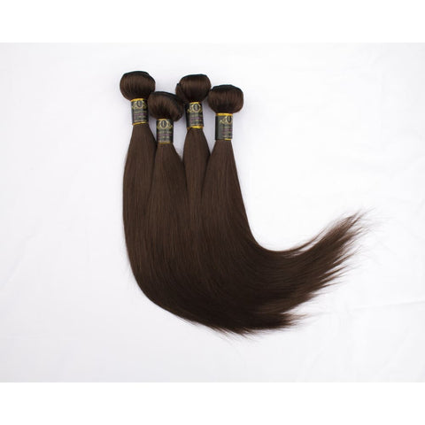 Russian Virgin Human Hair Extensions (Chocolate Brown) - 14 $70.00 Peruvian Virgin Hair Extensions QualityHairByLawlar