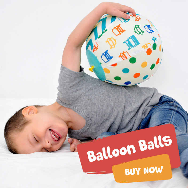 Bouncy Toddler Balloon Ball