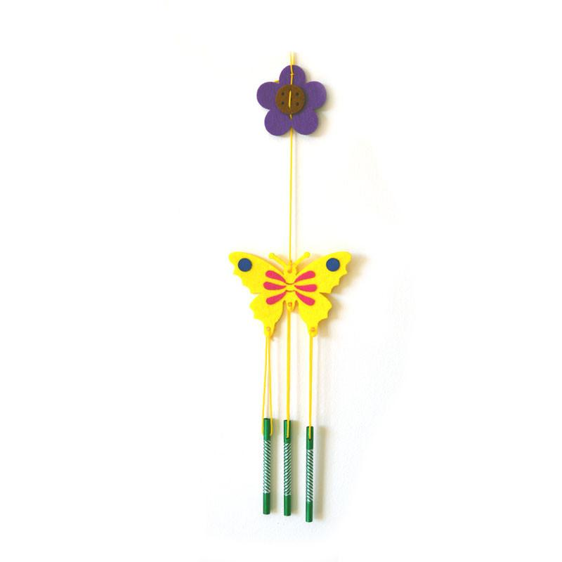 Daju Wind Chime – Butterfly – Craft Kit for Kids