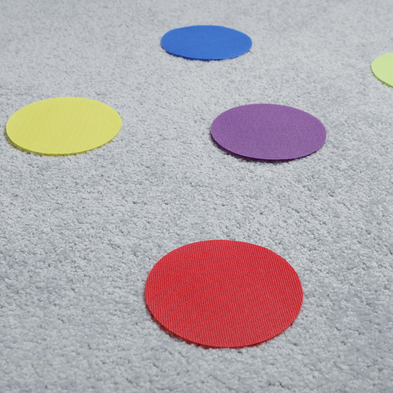 "Daju - 4"" / 10cm Spot Markers for Classrooms - Pack of 30 Pieces"