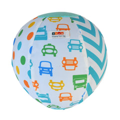 Daju Balloon Ball - Bouncy Toddler Ball in Cars Design