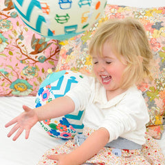 Daju Balloon Ball - Bouncy Toddler Ball in Butterlies Design